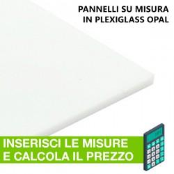 Pannello in Plexiglass Opal (opalino) su misura