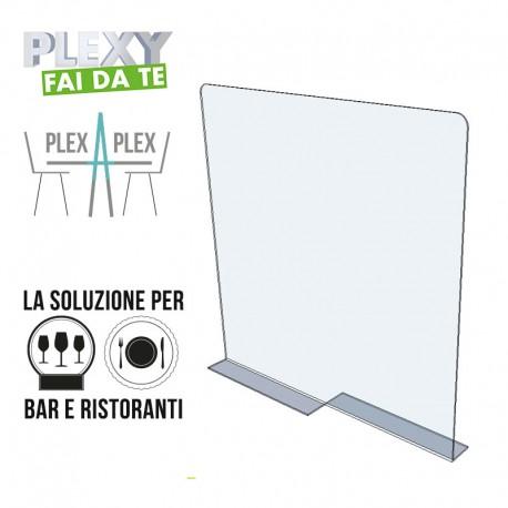 """""""Plex-a-Plex"""" Separatore su tavolo ristorante"""