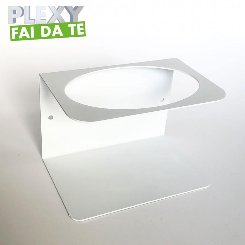 Struttura con alloggio Dispenser Amugel Baby Espositore in Plexiglass Ravi Idea Espositore da Banco con Gel igienizzante Mani