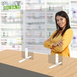 """Parafiato """"Easy"""" plexiglass mm.5 personalizzabile lunghezza max cm.180"""