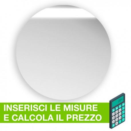 Disco in plexiglass specchio su misura