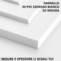 Pannello in PVC espanso bianco (Forex) su misura