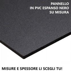 Pannello in PVC espanso nero (Forex) su misura