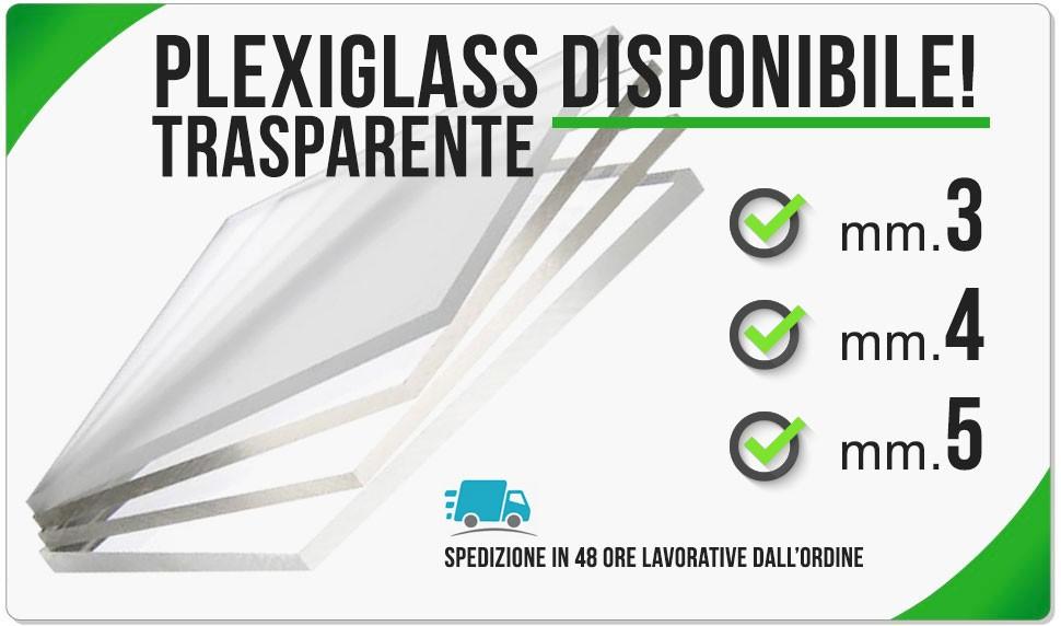 Plexiglass disponibile